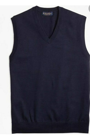 Brooks Brothers Other - Brooks Brothers Navy Sweater Vest